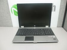 "HP EliteBook 8730w 17"" C2D-P8400 2.26GHz 4GB/320GB DVD/RW Linux Laptop + AC"