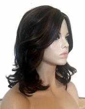 Forever Young Parisian Bob MONOFILAMENT Heat Safe Wig (Color HL4/27) Curly Wavy