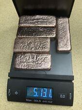 New listing Copper Ingot Bar Hand Poured Cu 5+lbs!