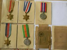 WW2 Medal group to RAOC with Photos and Documents - Extensive group