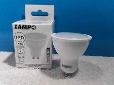 LAMPADA LED GU10 230V 7W 120° LUCE NEUTRO LAMPO DIKLED7WE230BN