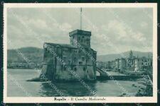 Genova Rapallo Castello Medioevale cartolina RT0519