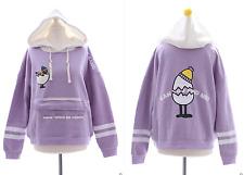 T-507 Lolita Sweatshirt Fleece Pullover Pony Mini kurz Version Harajuku Japan