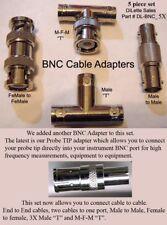 Oscilloscope accessories for HF Tektronix, Agilent BNC Banana port scope meters