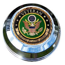 MotorDog69 Army Veteran Harley Gas Cap Coin Mount