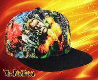 New DC Comics Aquaman Sublimated Mens Classic Vintage Snapback Hat Cap