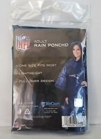 NFL Patriots Wincraft Rain Poncho - New Sealed - one size fits all