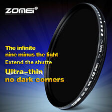 52mm Ultra Dünn AGC Glass Optical Fader ND2-400 Neutral Grau Für Digitale Kamera