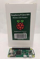 New 2018 Raspberry Pi Zero WH  Wireless w/ Header!!