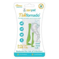 Tick Tornado Pro Pet Dog Horse cat Tick Removal Tool Quick Easy & Safe Zenpet