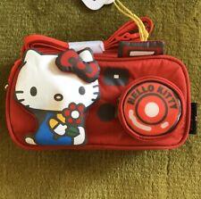 Hello Kitty x LeSportsac 45th anniv. Sanrio Kawaii CAMERA BAG Crossbody shoulder