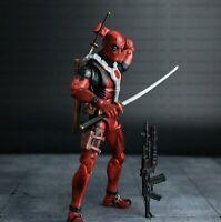 Deadpool Action Figure X-MEN PVC Toy 16cm 6.3'