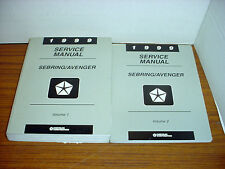 1999 Sebring Avenger Repair Manual