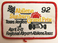 "VINTAGE AUTO 4.5"" ABILENE TEXAS AIRPORT SUNBURN GRAND PRIX APRIL 1992"
