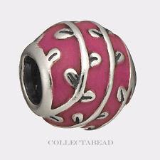 Authentic Pandora Sterling Silver Red Vines Enamel Bead 790525EN17 *SPECIAL!!!