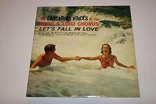 "The Cascading Voices Of The Hugo & Luigi Chorus ""Let's Fall In Love"" LP VG/VG"