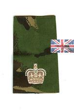 New PAIR of DPM Irish Guards Major RANK SLIDES ( Foot
