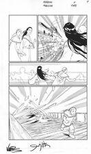 Meridian #6 p.9, Hard to find & signed, Josh Middleton Comic Art