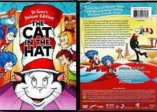 Dr. Seuss' The Cat in the Hat (DVD 2012 Deluxe Edition FS) ANIMATED CARTOON