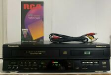 Panasonic PV-D4732 Double Feature VHS VCR Recorder DVD Combo Player No Remote