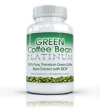 GREEN COFFEE BEAN PLATINUM w/ GCA Best Pure Extract Weight Loss Fat Burner 800mg