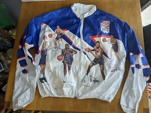 Kellogg's 1992 USA Olympic Dream Team Tyvek Jacket Adult Large 42-44 Basketball