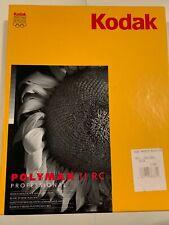 Kodak Polymax II RC Professional White Fine-Grain 8x10in 100 Count