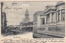 Valparaiso Chile Rppc 1903/1904 Calle Condell South America 1702097