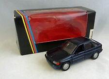 Schabak Ford Escort Dark Blue 1/43 Scale