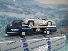 1/43 Conrad (Germany) Mercedes Car Transporter 1955 with car