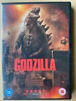 Godzilla DVD 2014 Monster Film Azione Film con Aarron-Taylor Johnson