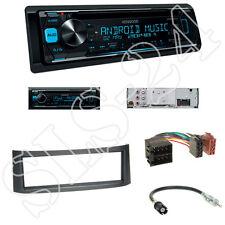 Kenwood KDC-300UV Radio+Smart Roadster(BR 452) Blende anthrazit+ISO Adapter Set