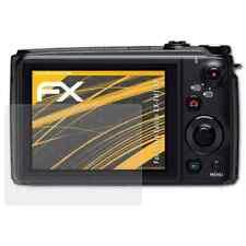 atFoliX 3x Screen Protector voor Casio Exilim EX-FH100 mat&schokbestendig