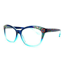 Women Cat eyes Gradient Reading glasses Florals for reader +1.0 1.5 2.0 2.5 3.0
