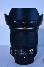 Nikon Nikkor 24mm F/1.8 G ED AF-S Lens EXCELLENT NEAR MINT ( FREE SHIPPING )