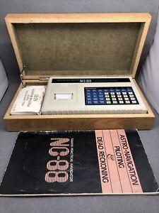 TAMAYA NC-88 Navigation Calculator in Original Box with Manual, extra paper