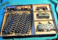 Piko Pico Express ME 102 E-Lok, Wagen, Schienen in OVP, 1950er