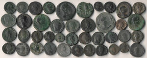 41 ANCIENT ROMAN COINS (NICE COLLECTIBLE, AUTHENTIC, EXCLT LOT !!) NO RESERVE