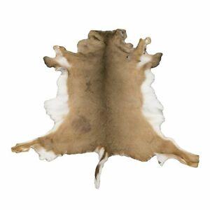 Deerskin Hair On Hide Full Deer Hide Soft Rug Pelt
