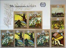 TOGO 1970 771-77 A Block 45 717-21 C124-C125a ILO Paintings Gemälde Art Kunst **