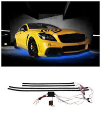 4Pcs Under Car Neon Chassis Light Kit Remote Control Colorful LED Universal Auto