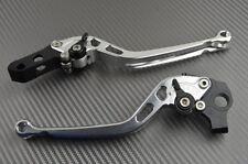 Paire leviers longs CNC Aluminium Aprilia Dorsoduro 750 no ABS 2008-2016