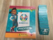 PANINI ALBUM EURO 2020 +LES 568 STICKERS . COMPLET