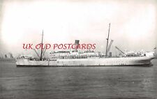 "Vintage Photo - UNION CASTLE, Ocean Liner, Cruise Ship, "" Grantully Castle """
