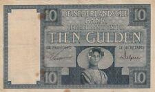 🇳🇱 10 Gulden - 1930 - Niederlande - P-43b 🇳🇱