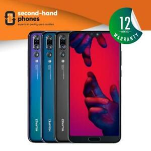 """Huawei P20 PRO 128GB 256GB Unlocked 6.1"""" Android Smartphone All Colours"""