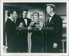 1951 Meet Danny Wilson Original Press Photo Frank Sinatra Shelley Winters