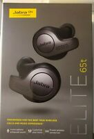 Brand New Jabra Elite 65t True Wireless Earbud Headphones - Titanium Black