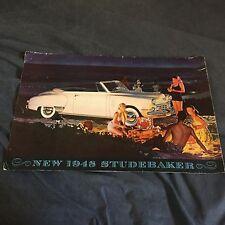 1948 Studebaker President Land Cruiser Champion Brochure Catalog Prospekt