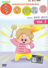 DVD Anime Magnificent Madame Mak 麥太扭花臣: Volume 2 (Chapter 11 - 20) ~ Sandra Ng